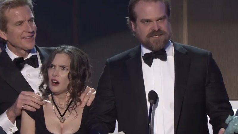 Screenshot: SAG Awards