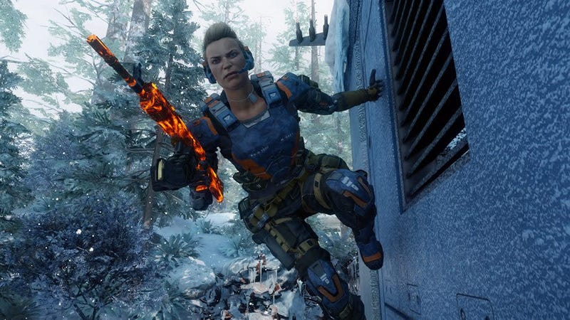 Illustration for article titled Black Ops III's Surprise DLC Is Beautiful
