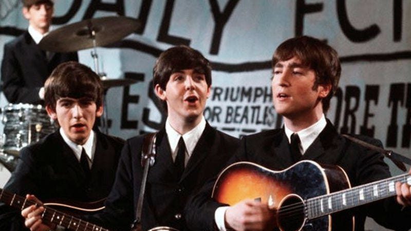 Illustration for article titled There's a website devoted to the theory that The Beatles never existed