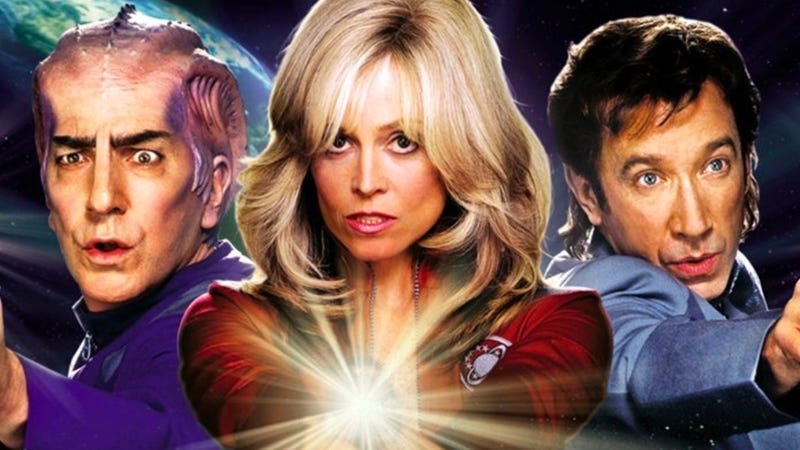The Galaxy Quest Blu-ray cover. Image: Amazon