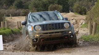 Illustration for article titled So how do the new Jeep Cherokee and Renegade do in the mud?