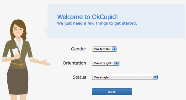 What happens when someone blocks you on okcupid
