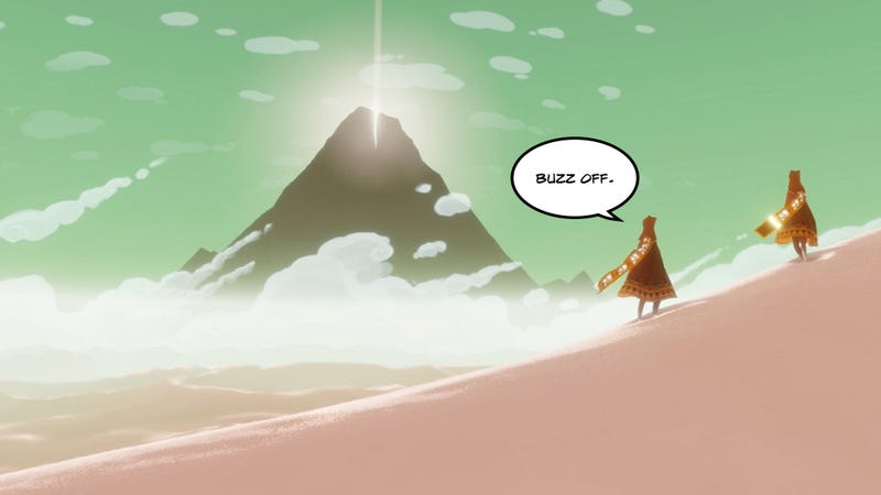 Illustration for article titled Before You Start: One Tip For Playing Journey The Best Way