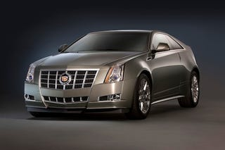 Illustration for article titled 2012 Cadillac CTS gets new grille, 14 extra horses and kills a manual
