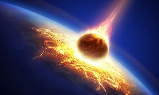 Illustration for article titled Ancient Asteroid Impacts Boiled the Oceans and Made Life on Earth Hell