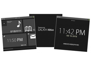 Illustration for article titled Leaked Screenshots Reportedly Show Samsung's Smartwatch