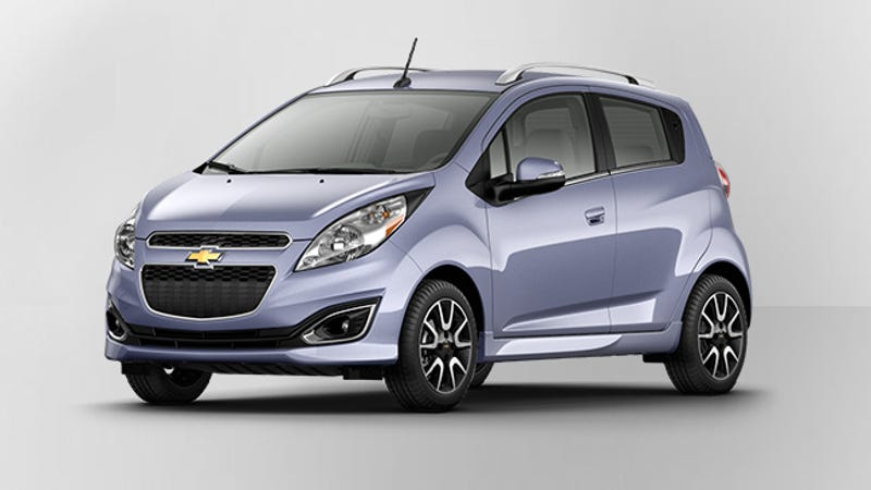 the award for the most pastel car goes to the chevy spark. Black Bedroom Furniture Sets. Home Design Ideas