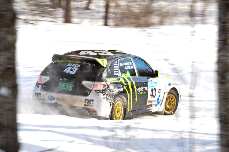 Illustration for article titled 2009 Sno*Drift Rally: Michigan's Great Motorsport Secret