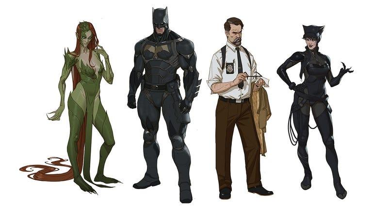Illustration for article titled Batman, Redesigned