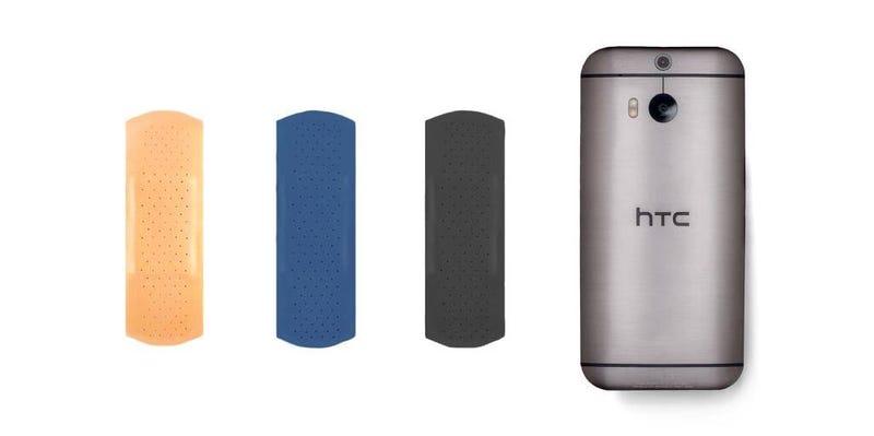 "Illustration for article titled HTC se burla de las ""tiritas"" de Samsung"