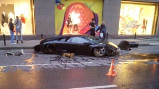 Illustration for article titled Massive Russian Lamborghini Crash Was Somehow Not Captured On Dash Cam