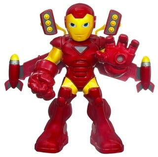Illustration for article titled Join Jalopnik On Facebook, Win An Adorable Rocket Boost Iron Man