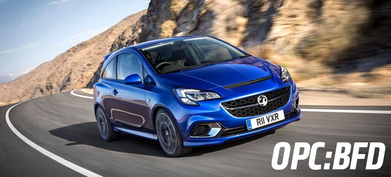 Illustration for article titled Someone 'Leaks' The Opel Corsa OPC But No One Cares