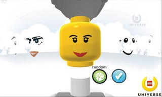Illustration for article titled LEGO Universe Creation, In-Game Screenshots