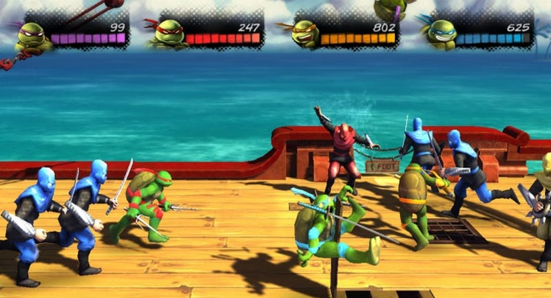 Illustration for article titled New TMNT Game Is 360 Timed Exclusive