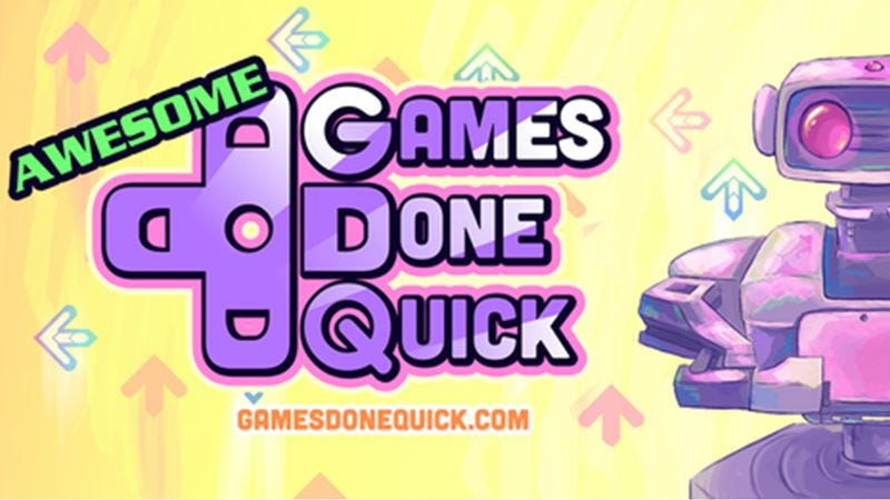 Illustration for article titled Gotta go fast: Highlights from the Awesome Games Done Quick speedrunning marathon