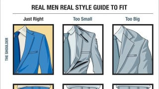 Illustration for article titled This Visual Guide Outlines How Men's Suits Should Fit