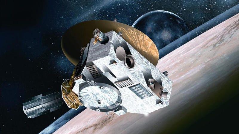La sonda Nuevos Horizontes.
