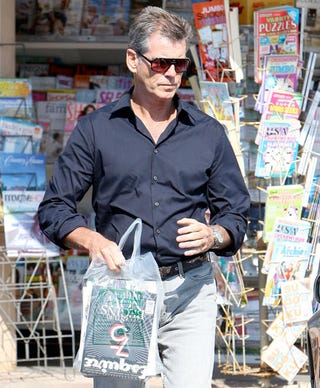 """Illustration for article titled Pierce Brosnan Is A """"Man At His Best"""""""