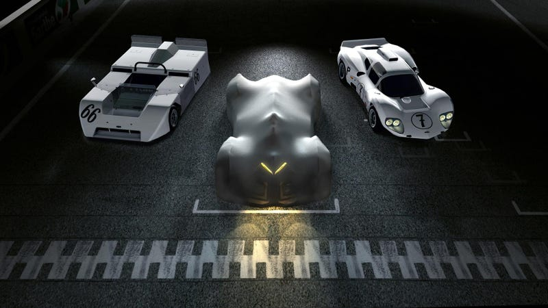 Illustration for article titled Chevy Is Bringing The Chaparral Racer Of The Future To Gran Turismo 6
