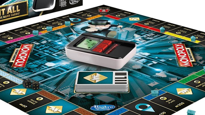 Illustration for article titled Monopoly is now a cashless economy