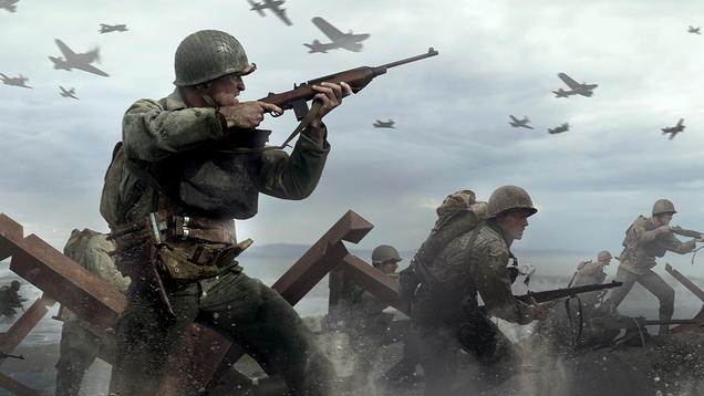 PlayStation Plus Users Can Get  Call of Duty: WWII  For Free Tomorrow