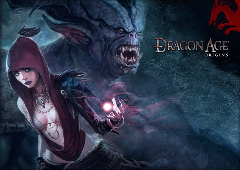 Dragon Age Origins Review Tripping The Blight Fantastic