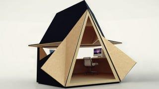 Illustration for article titled Designer Sheds Make For Less Depressing Cubicles