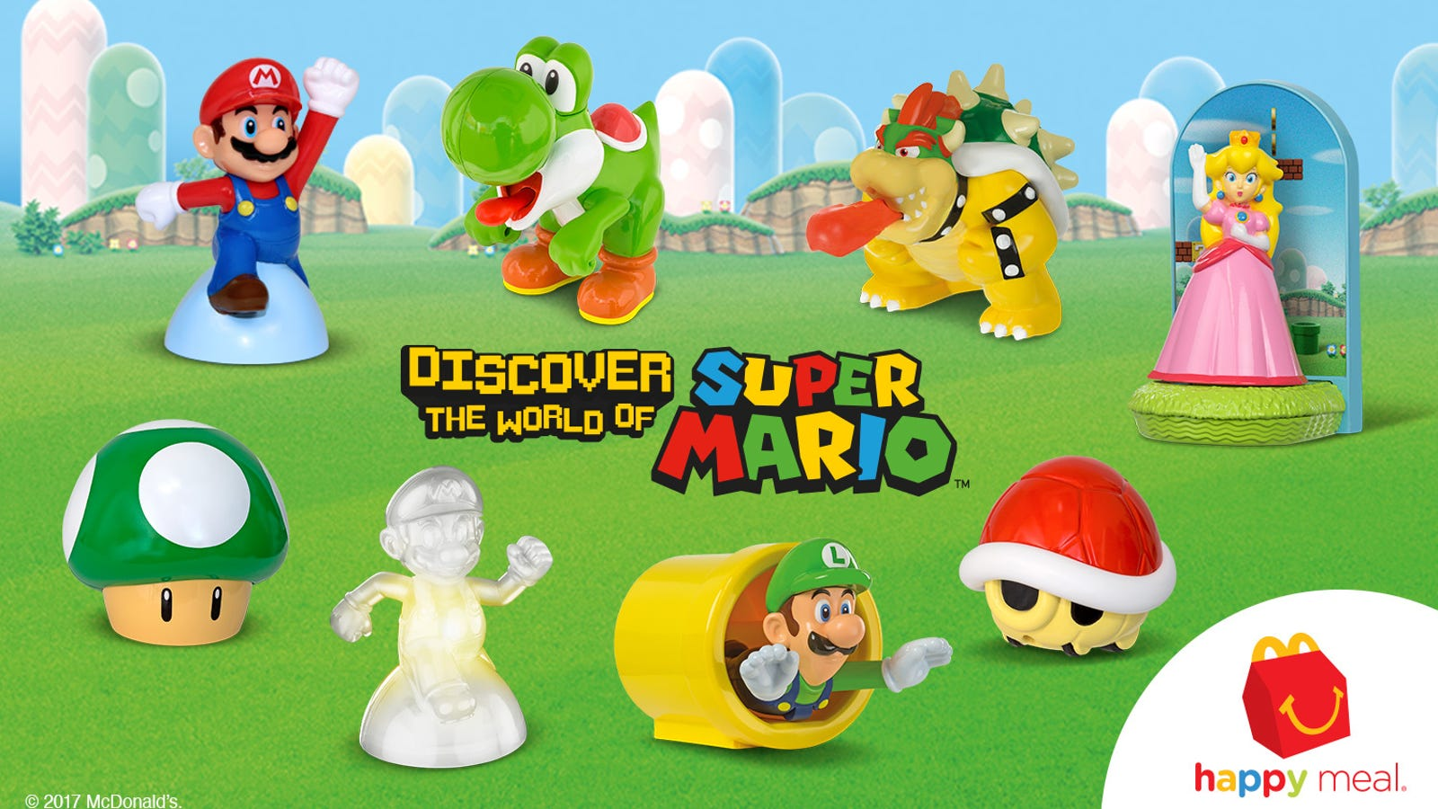 You Dont Have To Eat McDonalds Get Super Mario Happy Meal Toys