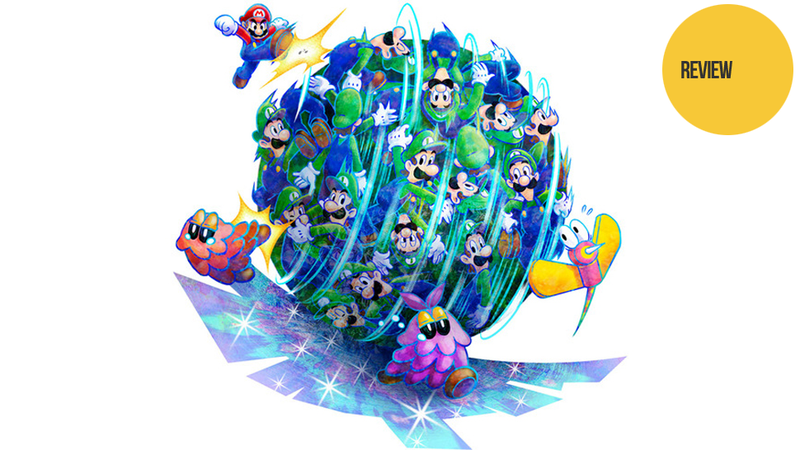 Illustration for article titled Mario & Luigi: Dream Team: The Kotaku Review