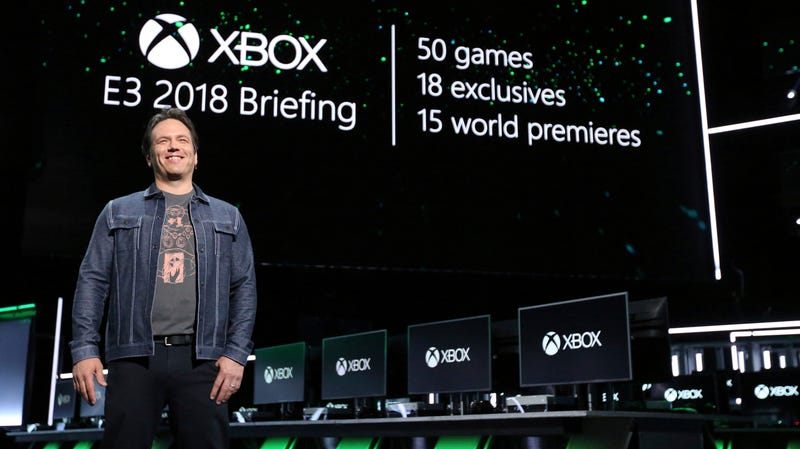 Xbox boss Phil Spencer, who says streaming tech that doesn't require an advanced console or PC will be great for developers