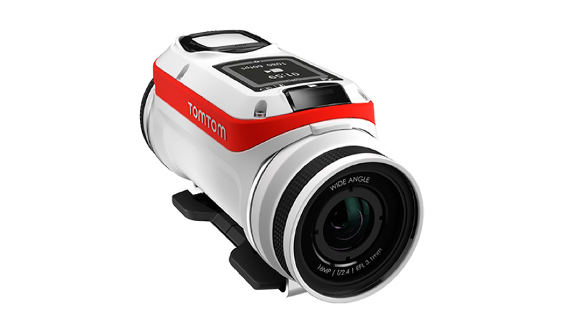 Illustration for article titled The Coolest Thing About TomTom's New Action Camera Is Its Clever Battery