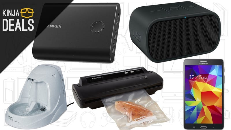 Illustration for article titled Today's Best Deals: Anker Chargers, Pet Supplies, Fresher Food, and More