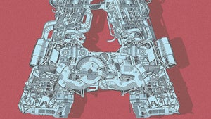 Illustration for article titled A is for Autobot: A mechanized font inspired by Transformers