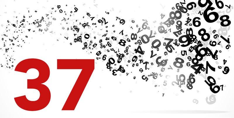 Illustration for article titled Las curiosidades y coincidencias detrás de un simple número: el 37