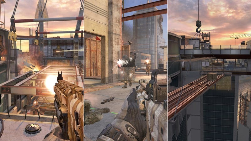 Illustration for article titled In Two Weeks, You'll Fall to Your Death in the  Next Call of Duty DLC Map
