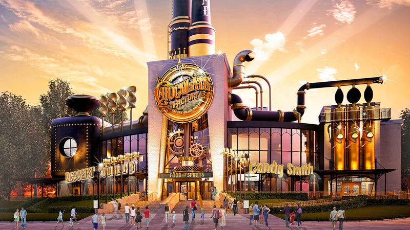 Illustration for article titled Holy Snozzberries Universal Studios Is Building Willy Wonka's Chocolate Factory