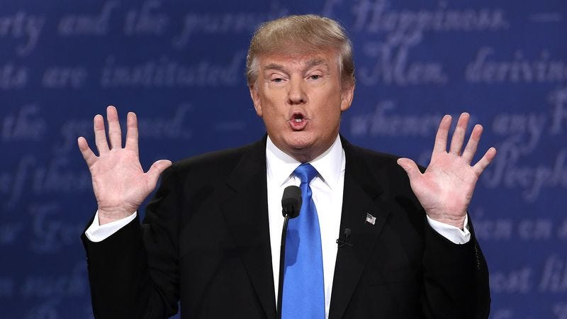 Illustration for article titled Viewers Impressed By How Male Trump Looked During Debate