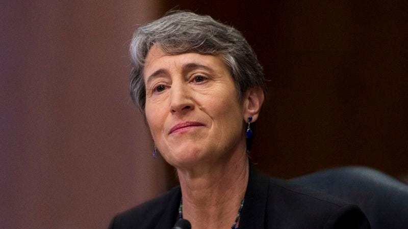 Secretary Of The Interior Meekly Asks If There Anything She Can Do To Help  Stop ISIS