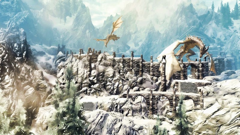 Illustration for article titled An Incredibly In-Depth Look At The Making Of Skyrim