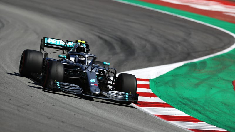 Valtteri Bottas at the 2019 Spanish Grand Prix.