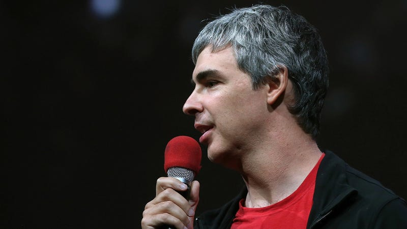 Larry Page, Google co-founder and CEO speaks during the opening keynote at the 2013 Google I/O developers conference.