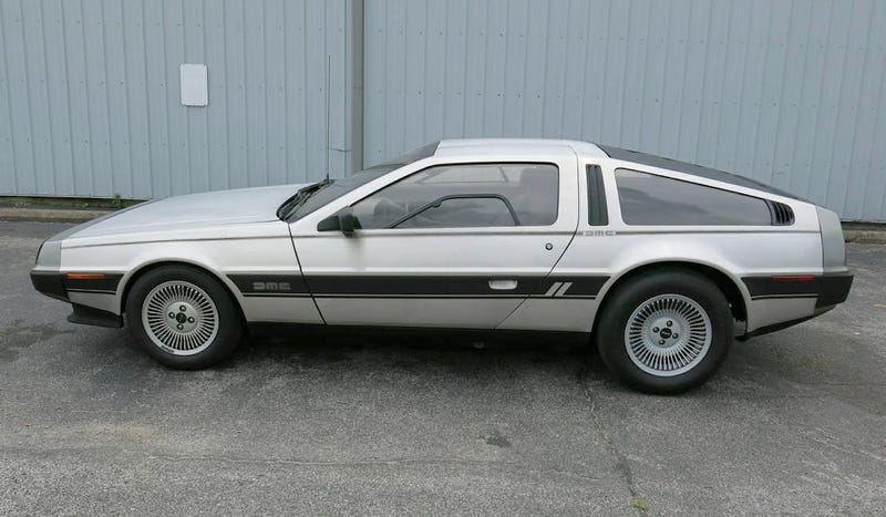 Illustration for article titled At $48,500, Could This Twin Turbo 1981 DMC-12 Stainless Steel Your Heart?