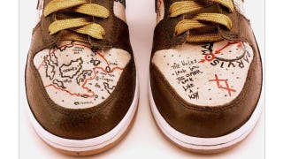 Illustration for article titled Uncharted-Themed Shoes Can Guide You in Drake's Steps