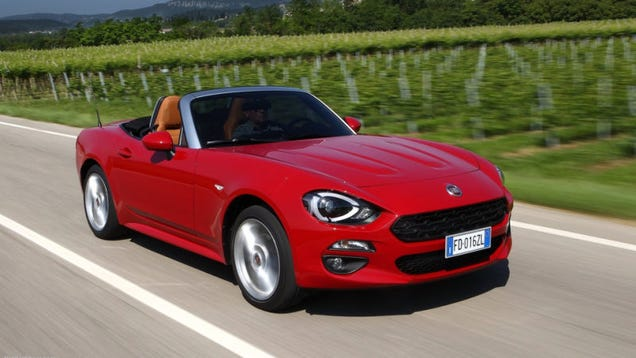 Here Is Why You Should Buy A Used Fiat 124 Spider, But A New Mazda Miata