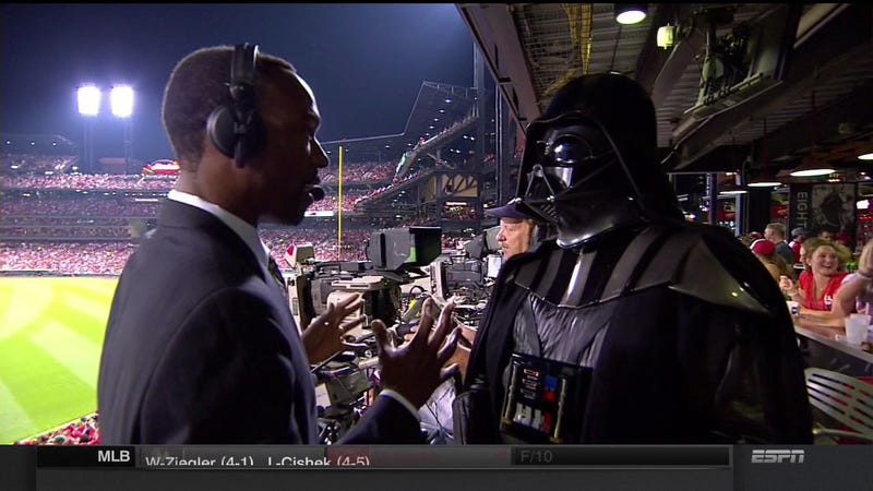 Illustration for article titled And Now, ESPN's Interview With A Dark Sith Lord