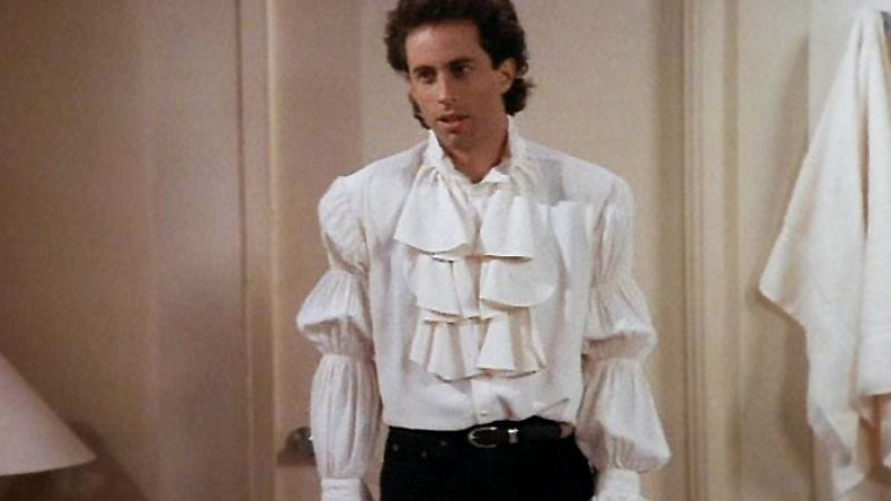 """53b0522d Illustration for article titled Seinfeld: """"The Puffy Shirt""""/"""" The"""