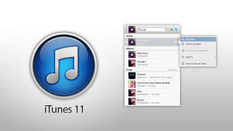 Illustration for article titled How to Use iTunes 11's Awesome New Features (and Bring Back the Old iTunes Look)