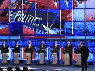 Republican presidential candidates (Jim Cole/AP)