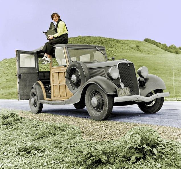 Fotos Imagens coloridas do passado historicas
